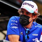 Un problema incorregible en el Alpine de Fernando Alonso
