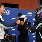 Russell, podio y un Mercedes