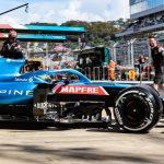 El podio imposible de Alonso