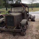 Ver para creer: tras 81 años a la intemperie... ¡esta camioneta GMC arranca!