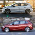 Comparación visual BMW Serie 2 Active Tourer: juzguemos los cambios