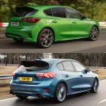 Comparación visual Ford Focus 2022: no te van a gustar todos los cambios